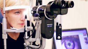 Диагностика рака глаза